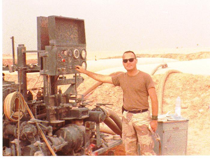 Pigpen a.k.a. Sgt William Brown circa 1991 - Al Kharj AB, Saudi Arabia