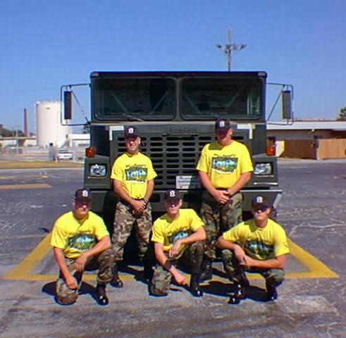 Eglin AFB 1999 Roadeo Team